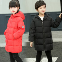 Cotton padded jacket neutral No detachable cap Cotton 96% and above Yenna ho Red, black, army green The recommended height is about 100cm for Size 110, 110cm for Size 120, 120cm for Size 130 and 130cm for size 140 thickening Zipper shirt leisure time There are models in the real shooting Class C