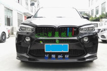 Surrounded by cars BMW / BMW 3D carbon fiber front lip, 3D carbon fiber side skirt trim panel, m carbon fiber fog lamp frame paste, RKP carbon fiber rear lip, M middle wing, Hamann carbon fiber big top wing, m small top wing, m carbon fiber medium net f85 f86 x5m x6m Automobile modified parts bmw