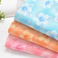Fabric / fabric / handmade DIY fabric cotton Loose shear rice Plants and flowers printing and dyeing clothing Countryside Bean weaving 100%