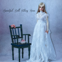 BJD doll zone Dress 1/3 Over 14 years old Customized Off white, black Six, four, three, big girl