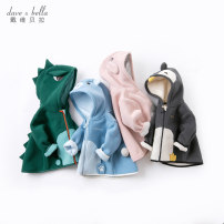 Plain coat DAVE&BELLA neutral 73cm 80cm 90cm 100cm 110cm 120cm 130cm 140cm Europe and America Zipper shirt There are models in the real shooting routine No detachable cap Cartoon animation other other DBX14462 Other 100% Autumn 2020