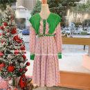 Dress Spring 2021 Yellow, pink Average size