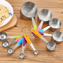 Measuring spoon Multicolor measuring spoon multicolor measuring cup multicolor measuring spoon measuring cup suit Independent brand