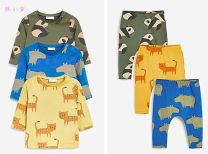 T-shirt 717-254 top is not returned for 15-18 days, 760-464 bottom pants is not returned for 15-18 days Next 0-3m, 3-6M, 6-9M, 9-12M, 12-18m, 1.5-2 years old neutral spring and autumn Long sleeves Crew neck leisure time No model nothing cotton Cartoon animation Other 100% 717-254 Class A