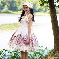 Lolita / soft girl / dress Magic tea party S,M,L,XL No season Lolita