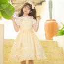 Lolita / soft girl / dress Magic tea party Small daisy spot, milk yellow spot, ruochao spot, tiramisu spot, black spot, white spot, angel red spot L,M,S No season Pre sale Lolita, Rumei Feng, guzao