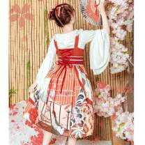 Lolita / soft girl / dress Magic tea party Blue, ginger, orange S,M,L,XL Lolita