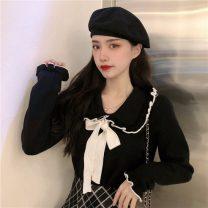 Wool knitwear Autumn 2020 Average size White, black, white vest Long sleeves singleton  Socket other 31% (inclusive) - 50% (inclusive) commute Socket Korean version