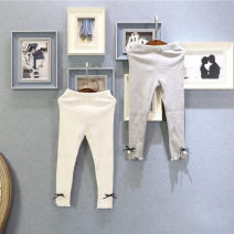 trousers Other / other female 7,9,11,13,15 White, gray spring and autumn trousers leisure time Leggings Leather belt Don't open the crotch Leggings Six, five, four, three, two