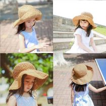 Hat Average size 2-7 years old adult female Fisherman hat dome Travel Other / other Wide eaves other