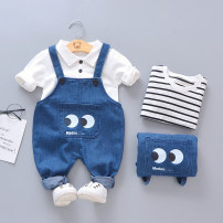 trousers Other / other neutral 73cm,80cm,90cm,100cm,110cm,120cm spring and autumn trousers Korean version No model rompers Button middle-waisted cotton Open crotch Cotton 95% polyester 5% Class A 3 months, 12 months, 6 months, 9 months, 18 months, 2 years old, 3 years old, 4 years old, 5 years old