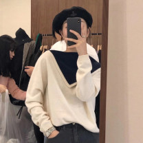 Wool knitwear Winter 2020 Average size Long sleeves Two piece set Socket other 31% (inclusive) - 50% (inclusive) Regular routine commute easy Doll Collar Korean version 25-29 years old