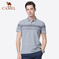 Polo shirt Camel Fashion City routine M L XL XXL XXXL standard Other leisure Short sleeve Basic public routine youth Summer of 2019