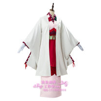 Cosplay women's wear suit goods in stock Over 14 years old Women's full set (gloves + kimono + waist cover + feather weaving + Hair Accessories + two toe socks + big bow) comic 50. M, s, XL, customized Huanhuan animation Japan He Feng, Yu Jie fan Land bound young prince huazijun