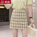 skirt Summer 2020 S M L XL XXL Short skirt Sweet High waist A-line skirt lattice Type A 18-24 years old 91% (inclusive) - 95% (inclusive) Chiffon Digression polyester fiber zipper Polyester 95% polyurethane elastic fiber (spandex) 5% Pure e-commerce (online only) college