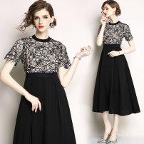 Dress Summer of 2018 black S. M, l, XL, 2XL, XXL weight 0.43