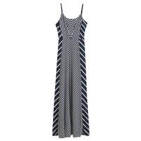 Dress Spring 2021 Picture color XS,S,M,L,XL,XXL,0,1,2,3 commute High waist stripe camisole Korean version P9/13-5069