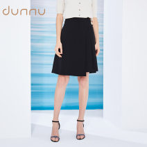 skirt Spring 2021 M L XL Positive black Middle-skirt commute Natural waist A-line skirt Solid color Type A 30-34 years old EQ120500 81% (inclusive) - 90% (inclusive) other Dunno polyester fiber lady Polyester fiber 87.9% polyurethane elastic fiber (spandex) 12.1%