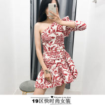 Fashion suit Spring 2020 S,M,L Small dress, half skirt and suit TRAF