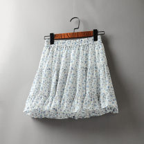 skirt Summer 2021 Average size Short skirt Versatile High waist A-line skirt Decor Type A 25-29 years old 51% (inclusive) - 70% (inclusive) Chiffon Other / other polyester fiber 61G / m ^ 2 (including) - 80g / m ^ 2 (including)