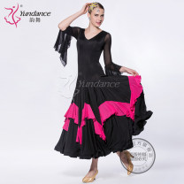 Modern dance suit (including performance clothes) Yundance Waltz Tango Foxtrot female Customized, please consult customer service Average size other M-102 Summer 2014