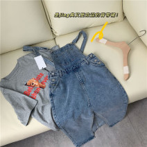 Fashion suit Winter 2020 XS,S,M,L Denim strap skirt 18-25 years old 96% and above polyester fiber