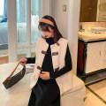 suit happymaman Dress + vest, black dress, cream vest Average size spring and autumn routine