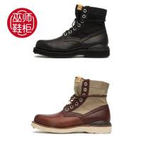 Boots Visvim / viswim 8 / for nike41 8.5 / for nike42 9 / for nike42.59.5 / for nike43 10 / for NIKE44 10.5 / for nike44.5 11 / for nike45 Frenulum No interior Middle cylinder Multi material splicing BLK color HK warehouse spot Bei color HK warehouse spot Multi material splicing No interior