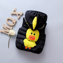 Vest male Other / other winter thickening No model zipper nylon Cartoon animation Polyester 100% Class C Silk floss Cotton liner 3 months, 6 months, 12 months, 9 months, 18 months, 2 years old, 3 years old, 4 years old