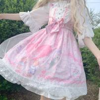 Lolita / soft girl / dress other Purple jsk + veil, pink jsk + veil, beige jsk + veil, purple jsk, pink jsk, beige jsk M (small), l (large)