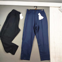 Casual pants Others Youth fashion Navy blue, black M,L,XL thin trousers Other leisure easy No bullet washing other hemp 50% (inclusive) - 69% (inclusive)