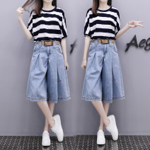 Fashion suit Summer of 2019 S,M,L,XL,XXL Other / other 51% (inclusive) - 70% (inclusive) cotton