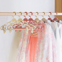 coat hanger 10 Plastic Bayit Clothes hanger with hanging belt public Wardrobe / cloakroom Macarone Chinese style no adult Space saving and multi-function