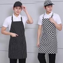 apron Sleeveless apron antifouling Simplicity canvas Drink / eat Average size Other / other public yes Solid color