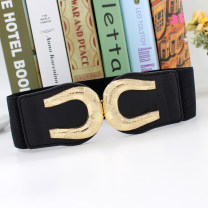 Belt / belt / chain other female Waistband Simplicity Single loop a hook letter 6cm alloy Tightness