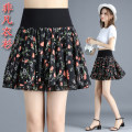 skirt Summer 2021 M,L,XL,2XL Color 1, color 5, color 8, color 9, color 10 Short skirt Versatile High waist A-line skirt Decor Type A 25-29 years old 91% (inclusive) - 95% (inclusive) Chiffon polyester fiber fold