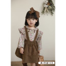 shirt Khaki baby shirt (c1227), dark coffee pants (c1228), khaki baby shirt (c1227) (pre-sale), dark coffee pants (c1228) (pre-sale) Yoehaul / youyou female 80cm,90cm,100cm,110cm,120cm,130cm,140cm spring and autumn Long sleeves commute Broken flowers Cotton blended fabric Lapel crew neck Other 100%