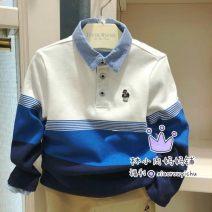 T-shirt Blue, khaki pants tktc93801k Other / other 105cm,110cm,120cm,130cm,140cm,150cm male spring and autumn Long sleeves