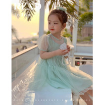 Dress Light fruit green, cream powder, light fruit green pre-sale female Maimaiqiu 80, 90, 100, model, 110, 120, 130, 140, 150 Other 100% summer princess Short sleeve Solid color other Princess Dress XA3195 Class B 2, 3, 4, 5, 6, 7, 8, 9, 10 years old Chinese Mainland Guangdong Province Dongguan City