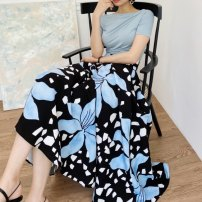 Fashion suit Spring 2021 Average size T 桖, floral skirt 18-25 years old Other / other