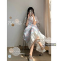 Dress Summer 2021 Top, skirt Average size Middle-skirt Two piece set commute 18-24 years old Korean version