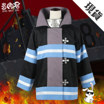 Cosplay women's wear suit goods in stock Over 14 years old Blue fire jacket, pointed cap, gloves, helmet, slippers, sword, blue fire jacket (pants + T-shirt + strap + belt), neckwear Animation, original, film and television 50. M, s, one size fits all Succulent King Japan Fire brigade