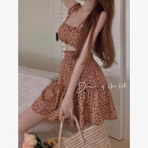 Fashion suit Summer 2021 Average size Sling, skirt 18-25 years old 4.7C