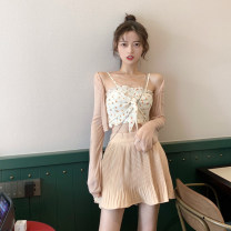 Fashion suit Summer 2021 Average size Cardigans, suspenders, skirts 18-25 years old 3.30C