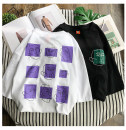 T-shirt White black M L XL 2XL 3XL Summer of 2018 Short sleeve Crew neck easy Regular routine commute other 31% (inclusive) - 50% (inclusive) 18-24 years old Korean version originality Geometric pattern of cartoon animation printing