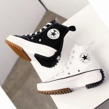 canvas shoe Other / other Gao Bang Black, white Autumn 2020 Frenulum