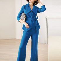 Fashion suit Spring 2021 S M L XL XXL Blue (in stock) 25-35 years old Xinyuquan 918351370- 30% and below spandex New polyester fiber 76% polyurethane elastic fiber (spandex) 5% others 19% Pure e-commerce (online only)