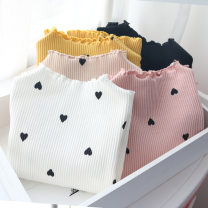 T-shirt White, yellow, black, beige, pink Other / other 90 = 7, 100 = 9, 110 = 11, 120 = 13, 130 = 15 female spring and autumn Long sleeves other Korean version No model nothing cotton other Class B other 2 years old, 3 years old, 4 years old, 5 years old, 6 years old, 7 years old, 8 years old