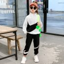 suit Other / other White, black 110cm,120cm,130cm,140cm,150cm,160cm currency spring and autumn leisure time routine Solid color Class B 3 months