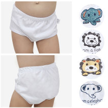 underpants cotton Dudu house Panda, plain lion, plain elephant, pure white, colorful lion, colorful elephant Cotton 100% Four seasons male 1-3 years old, 3-5 years old, 5-7 years old PJ077